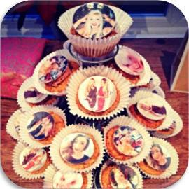 all personalised photo logo edible cake toppers