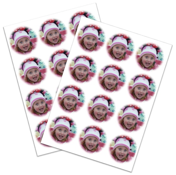 Only 195 For An A4 Sheet Eat My Face Photo Cake Toppers